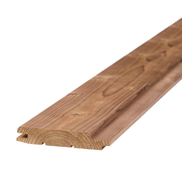 Sauna voodrilaud termokuusk harjatud STP 15x90x2700mm