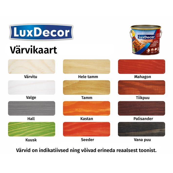 Puidukaitsevahend Luxdecor 1L hele tamm