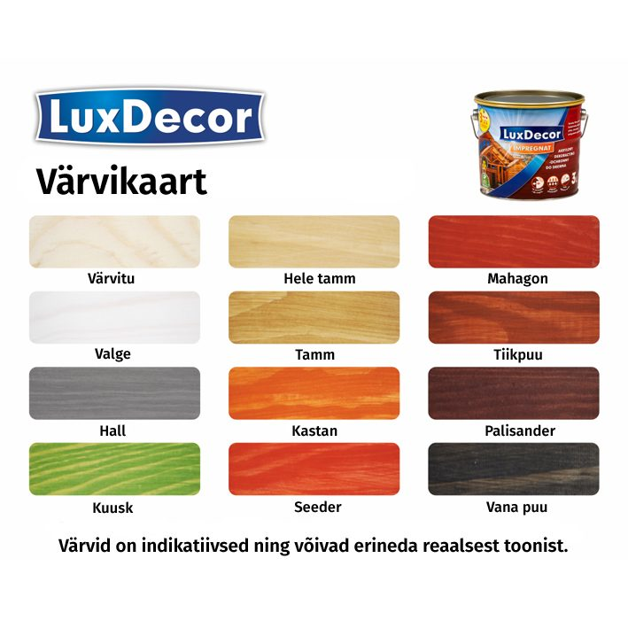 Puidukaitsevahend Luxdecor 5L seeder