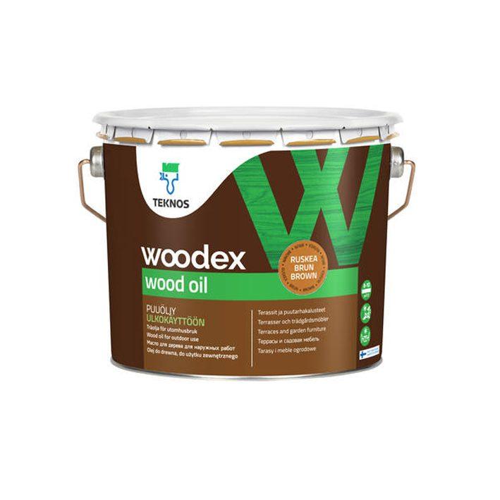 Puiduõli Woodex Wood Oil 2,7L pruun