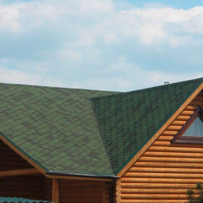 Bituumensindel Tegola Hexagonal (3m2) roheline