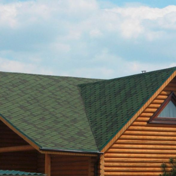 Bituumensindel Hexagonal (3m2) roheline
