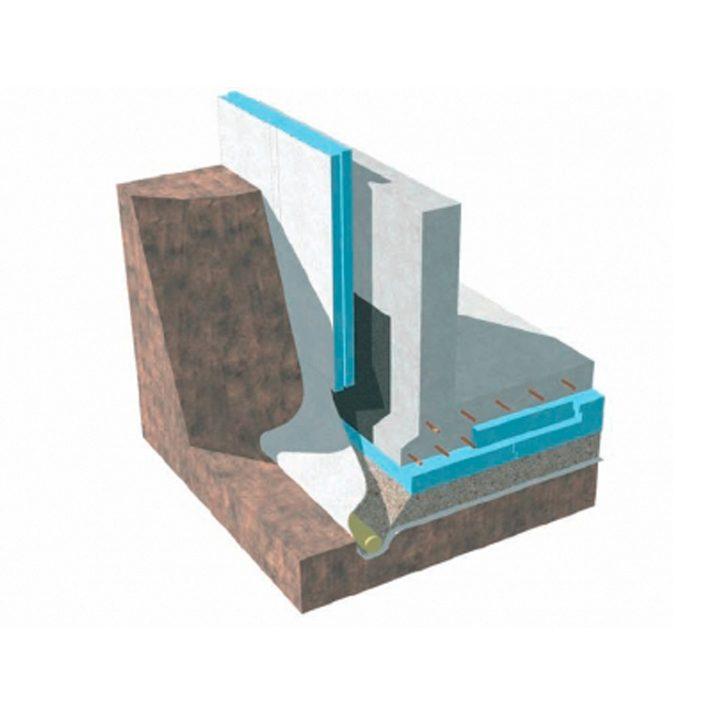 Soojustusplaat XPS 250 foam SL 100x585x1185mm 2,77m2