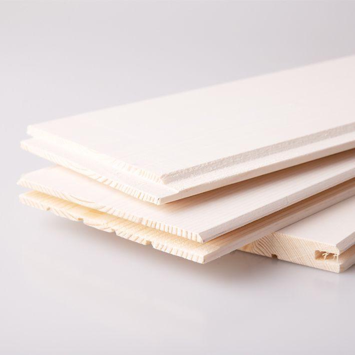 Sisevoodrilaud valge vaha PTGV.12x120x2400 otsatapp