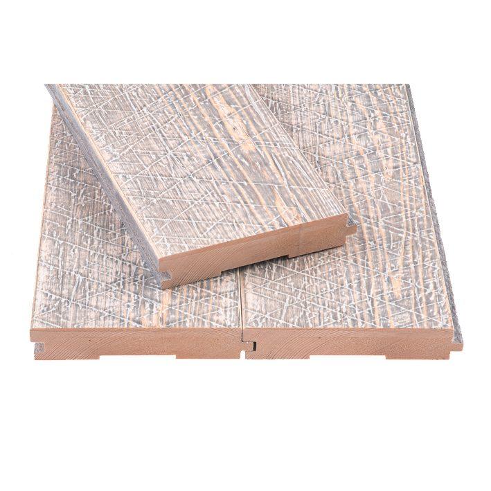 Põrandalaud Old Saw hall-valge HLL.28x146x2550mm otsatapp
