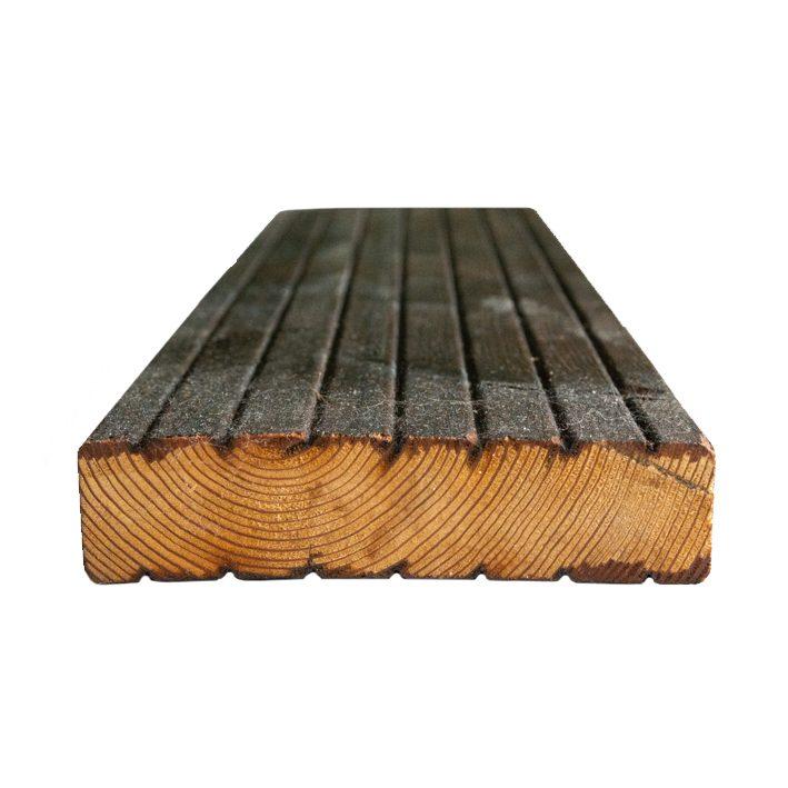 Terrassilaud lehis kuumõli D5 28x120mm grafiithall-pruun