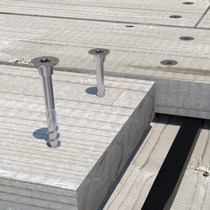 Kruvi terrassiklambrile AISI410 4,5x20mm (200)