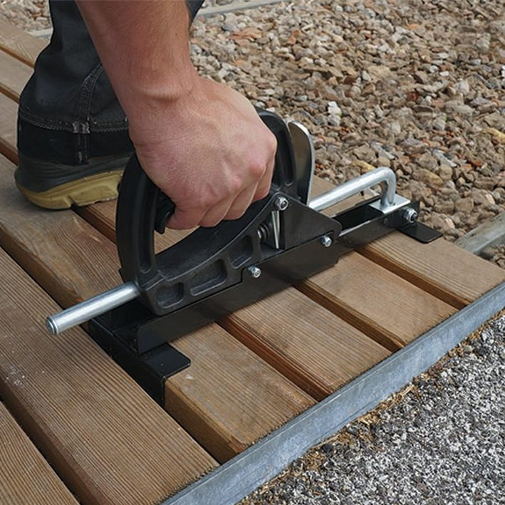 Puitlaudade rakis CRAB MINI 415mm