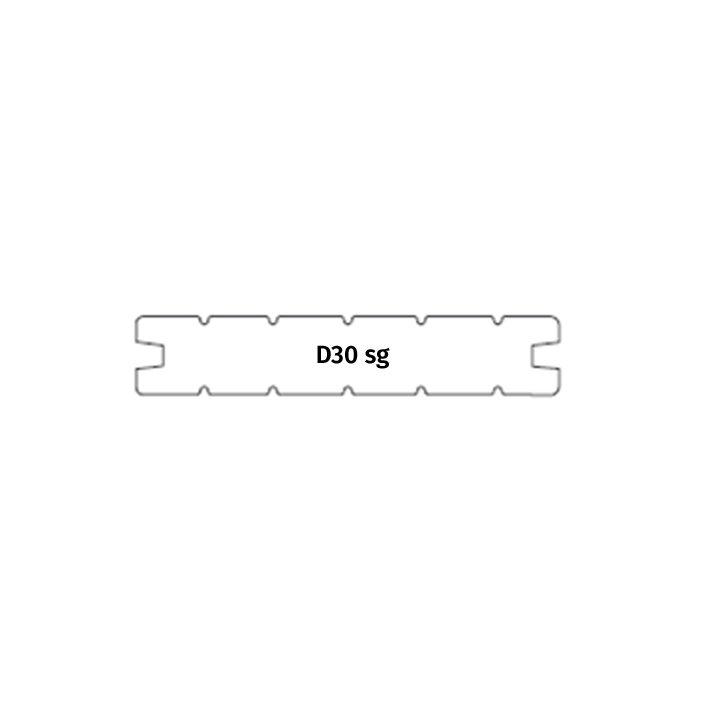 Terrassilaud termomänd D30 sg 26x115x3300mm
