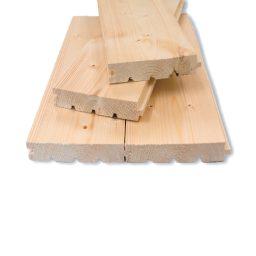 Põrandalaud kuusk AB HLL.28x146(138)x5100mm