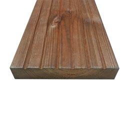 Terrassilaud immutatud pruun PHL.28X145X3900mm
