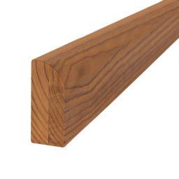 Saunalava äär termoradiata mänd 54x135x2400mm