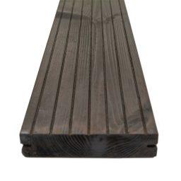 Terrassilaud termomänd kuumõli D5 26x117mm tumehall-pruun