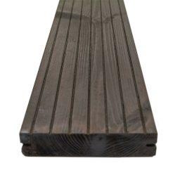 Terrassilaud termomänd kuumõli D5 26x140mm tumehall-pruun
