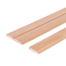 Sauna voodrilaud lepp A STP.15x90(80)x2300mm