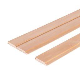 Sauna voodrilaud lepp AB STP.15x90(80)x2400mm