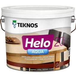 Lakk Helo Aqua 20 0,9L matt