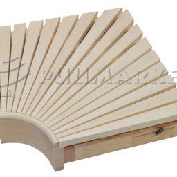 Sauna nurgamoodul haab 95x600x600mm