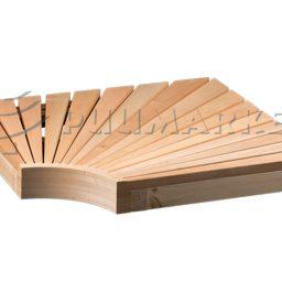Sauna nurgamoodul lepp 95x600x600mm