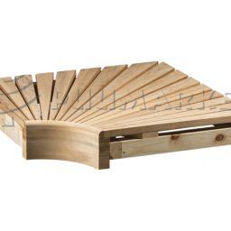 Sauna nurgamoodul temohaab 95x600x600mm