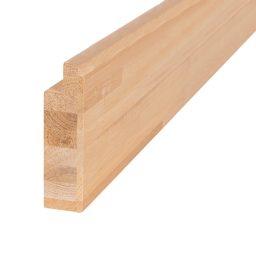 Saunalava äärelaud lepp 40x140x2100mm