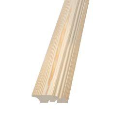 Põrandaliist mänd 19x70mm 2,4m