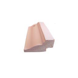 Põrandaliist mänd 23x45mm 2,4m valge