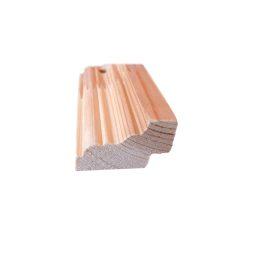 Põrandaliist mänd sõrmjätkatud 28x45mm 2,4m
