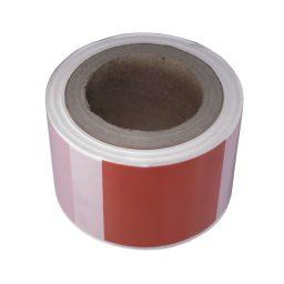 Ohulint 70mmx100m valge/punane