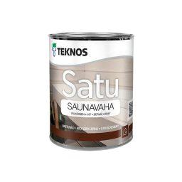 Sauna puidukaitsevahend Satu Saunavaha 0,45L valge