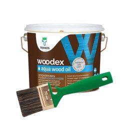 Puiduõli Woodex Aqua Wood Oil 2,7L hall