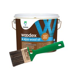 Puiduõli Woodex Aqua Wood Oil 2,7L pruun