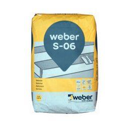 Peenbetoon Weber S-06 25kg