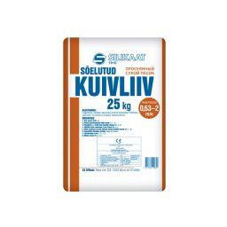 Liiv Silikaat 0,63-2,0mm 25kg