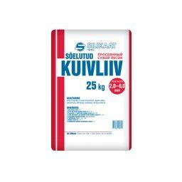 Liiv Silikaat 2,0-6,0mm 25kg (48)