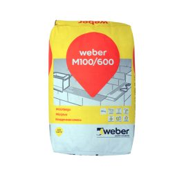 Müürisegu Weber M100/600 25kg