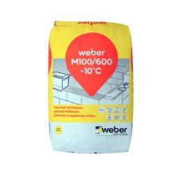 Müürisegu Weber M100/600 25kg talvine