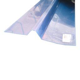 PVC katuse harjaplaat Gutta 1100x180x180mm läbip.
