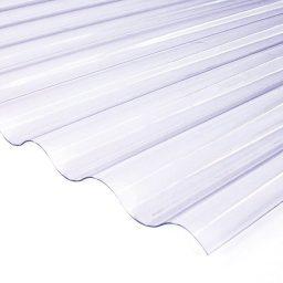 PVC katuseplaat Gutta Sinus 2000x900mm läbipaistev