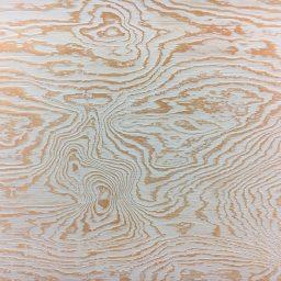 Seinapaneel vineerist Wave valge 9x600x1200mm