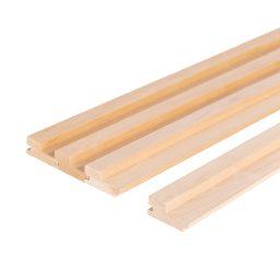 Sauna voodrilaud lepp STEP.27x64mm