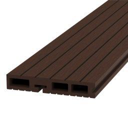 Terrassi starterlaud komposiit Light 25x150x4200mm tumepruun