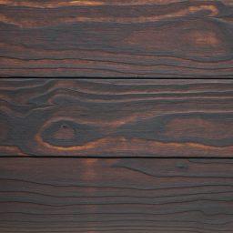 Terrassilaud lehis põletatud, 1x harjatud D4 28x130mm