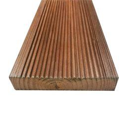 Terrassilaud immutatud pruun PHL. 28X145X6000mm