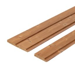 Sauna voodrilaud termokuusk harjatud STP.15x90x1800mm