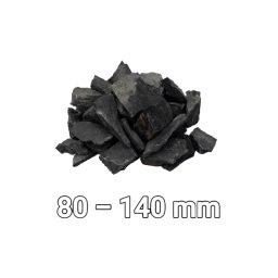 Dekoratiivkivid graniit 80-140mm 500kg tume
