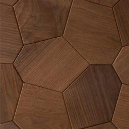 Seinapaneel Hexagon termosaar