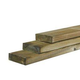 Пропитанная древесина