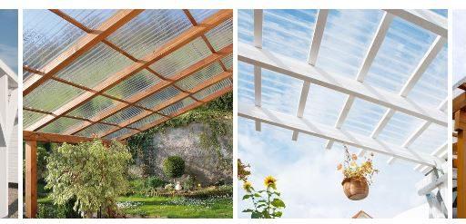 Läbipaistvad laineprofiiliga katteplaadid katustele ja fassaadile