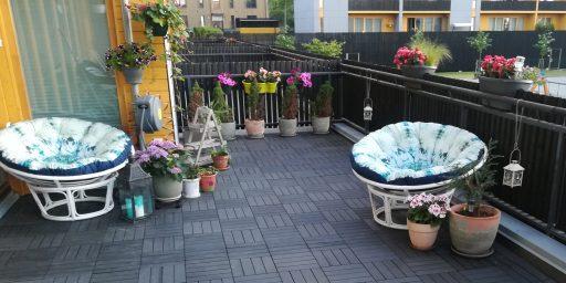 Loo vaheldust ja mustreid puitplastkomposiidist terrassiplaatidega!